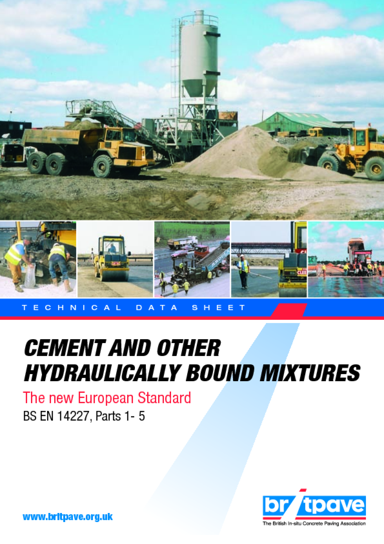 Picture of Cement and other hydraulically bound mixtures