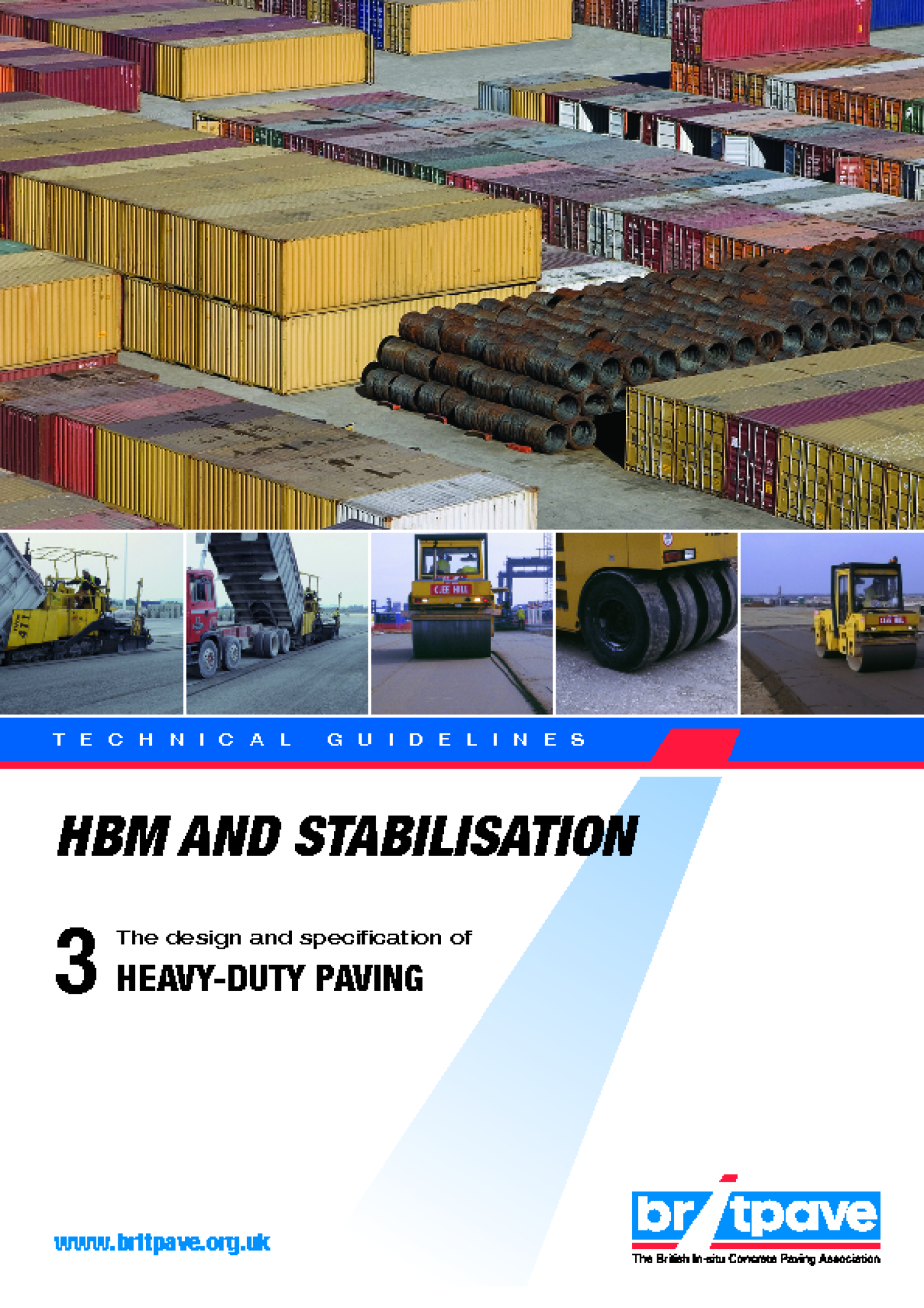 Picture of HBM and Stabilisation 3 - Heavy-Duty Paving