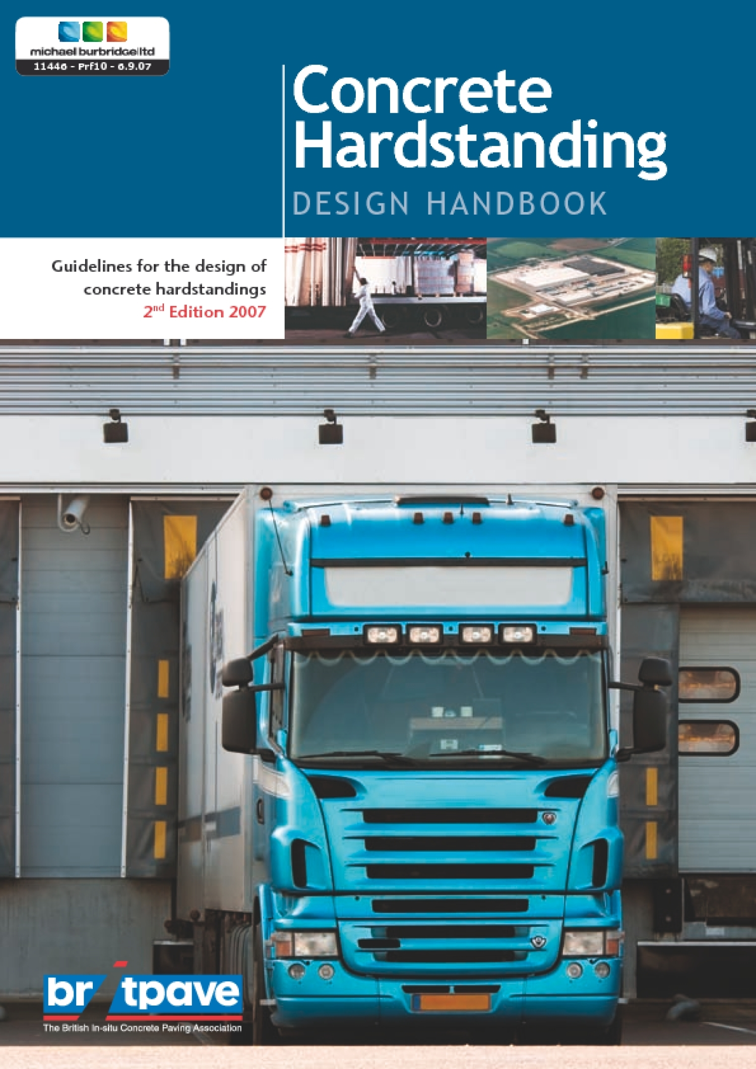 Picture of Concrete Hardstanding - Design Handbook (2nd Edition)