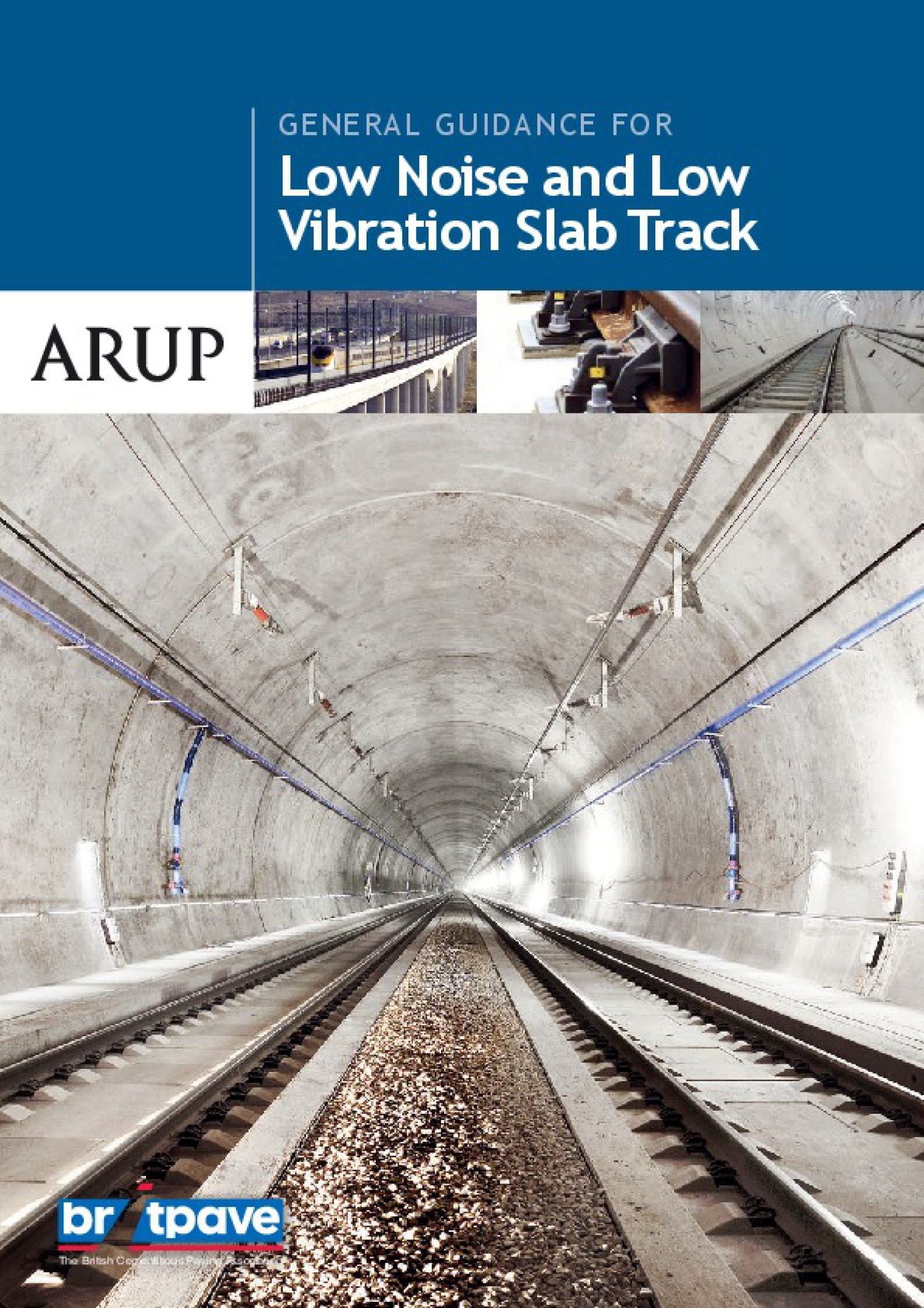 Picture of General Guidance for low noise and low vibration slab track