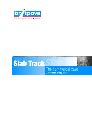 Picture of Slab Track - The Commercial Case