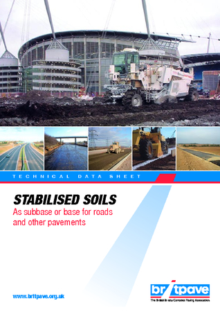 Picture of Stabilised soils as a subbase or base for road and other pavements