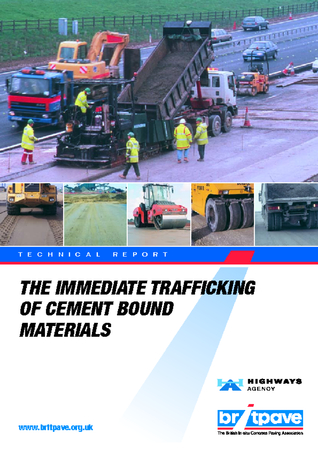 Picture of Immediate trafficking of cement bound materials