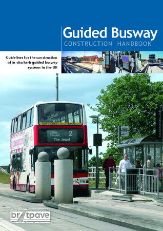 Picture of Guided Busway - Construction Handbook