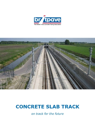 Picture of Concrete Slab Track: on track for the future