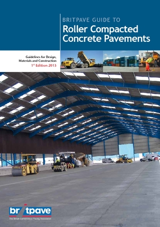 Picture of Britpave Guide to Roller Compacted Concrete Pavements