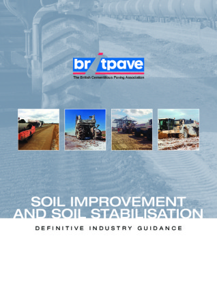 Picture of Soil Improvement and Soil Stabilisation - Definitive Industry Guidance